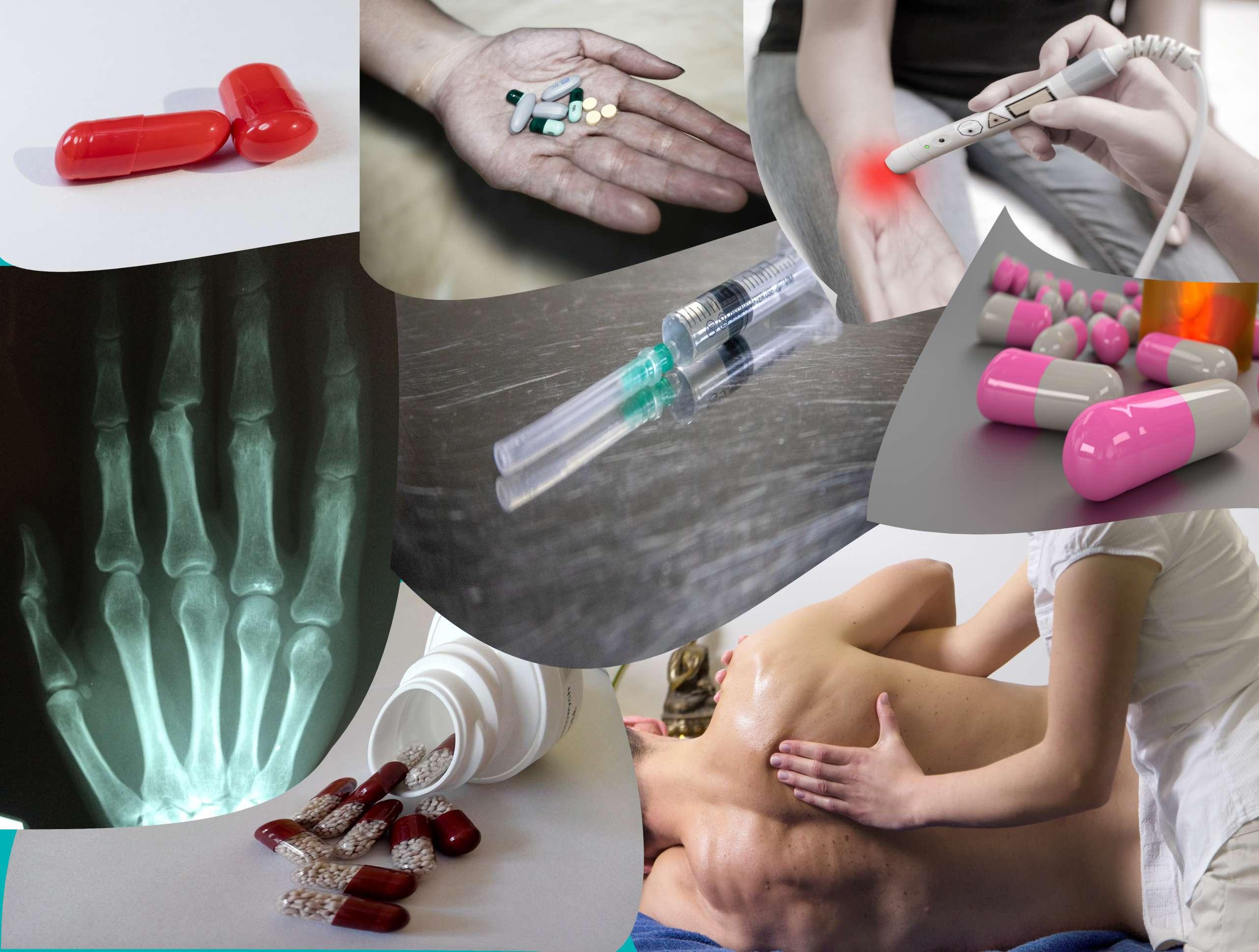 Darstennung der Schmertherapie